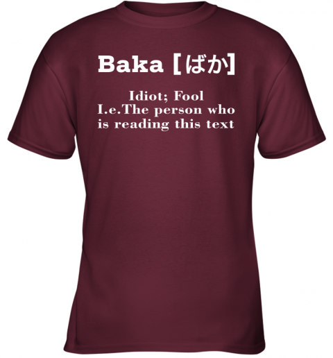 ls86 a man who makes trouble quotes chinua achebe things fall apart shirts youth t shirt 26 front maroon