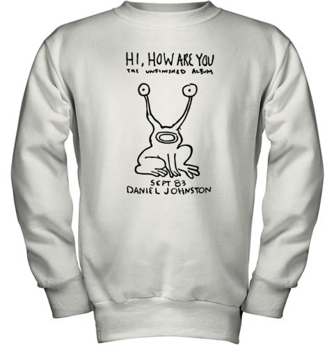 Kurt Cobain Daniel Johnston Original Youth Sweatshirt