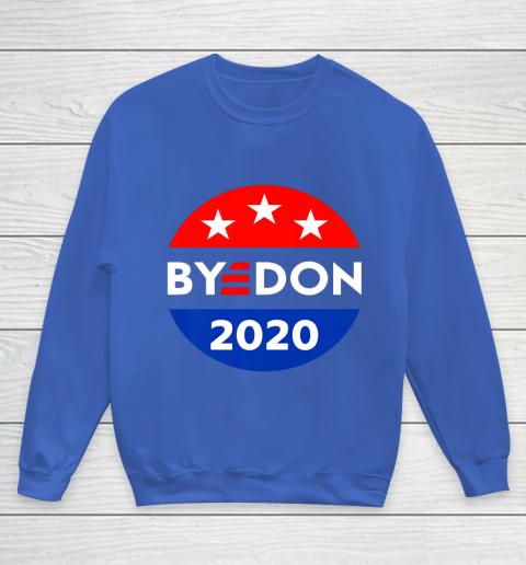 ByeDon 2020 Bye Don Anti Trump Vote Joe Biden Youth Sweatshirt 6
