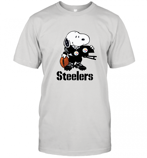 Snoopy A Strong And Proud Pittsburgh Steelers Player NFL Unisex Jersey Tee