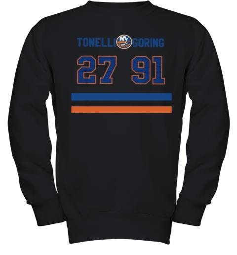 Tonelli And Goring Islanders 27 91 Youth Sweatshirt