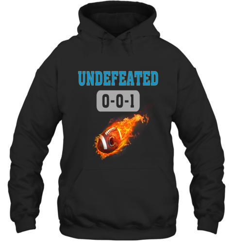 NFL CAROLINA PANTHERS Logo Undefeated Hoodie