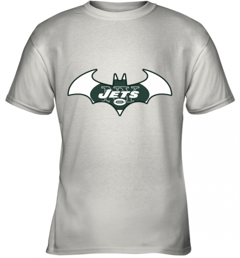 We Are The New York Jets Batman NFL Mashup Youth T-Shirt