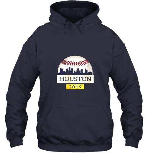 mryl houston baseball shirt 2019 astro skyline on giant ball hoodie 23 front navy