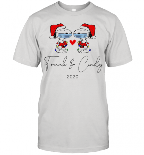 Christmas Frank And Cindy 2020 Unisex Jersey Tee