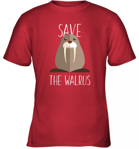 Walrus - Save the walrus Youth T-Shirt