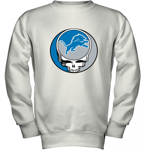 NFL Team Detroit Lions x Grateful Dead Youth Sweatshirt