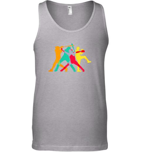 zktu vintage baseball shirt gifts unisex tank 17 front sport grey