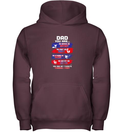 naln javier baez baseball buddy shirtapparel youth hoodie 43 front maroon