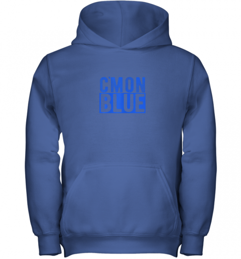 pkm7 cmon blue umpire baseball fan graphic lover gift youth hoodie 43 front royal