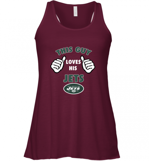 2ukv this guy loves his new york jets flowy tank 32 front maroon