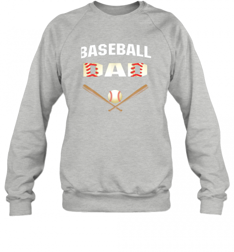 8snl mens baseball dad shirtbest gift idea for fathers sweatshirt 35 front sport grey