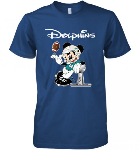 hvm7 mickey dolphins taking the super bowl trophy football premium guys tee 5 front royal