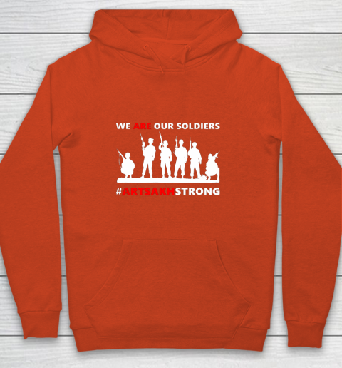We Are Our Soldiers Youth Hoodie 3