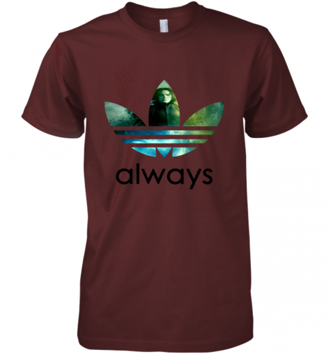 cujs adidas severus snape always harry potter shirts premium guys tee 5 front maroon