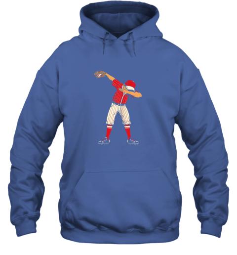 ykjq dabbing baseball catcher gift shirt men boys kids bzr hoodie 23 front royal