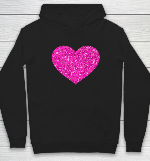 Pink Valentine Heart Love Fun Husband Wife Hoodie