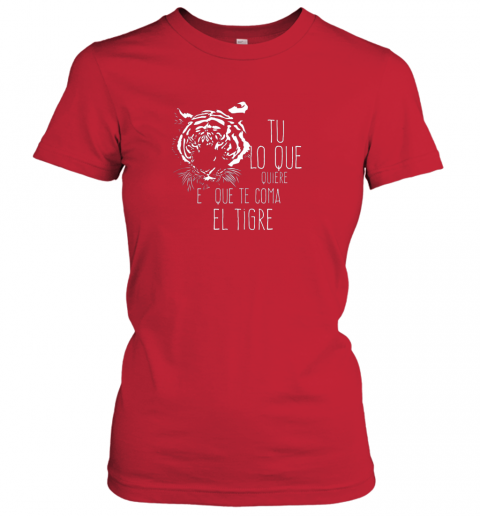 vgm1 tigres dominican baseball spanish espanol cool ladies t shirt 20 front red