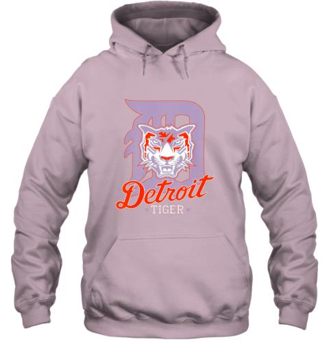 pwkk tiger mascot distressed detroit baseball t shirt new hoodie 23 front light pink