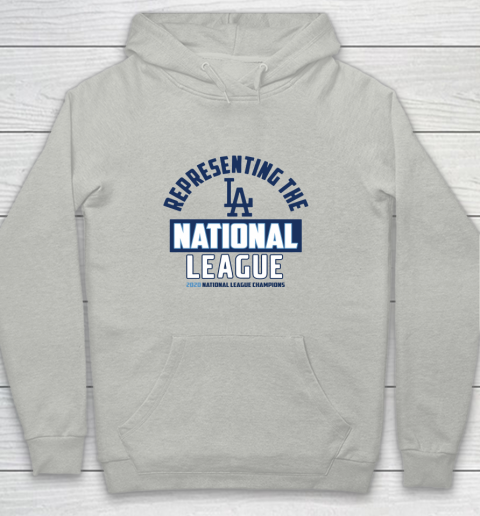Representing the Los Angeles Dodgers National League 2020 Champions Youth Hoodie