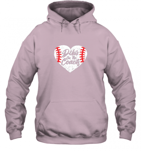j31n dibs on the coach funny baseball hoodie 23 front light pink