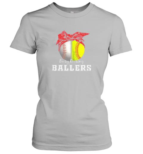nxv1 busy raising ballers softball baseball shirt baseball mom ladies t shirt 20 front sport grey