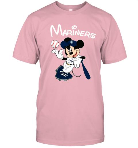 uuv9 baseball mickey team seattle mariners jersey t shirt 60 front pink