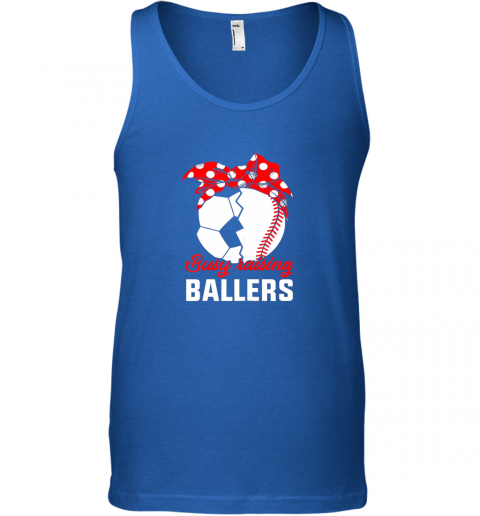 pdcz busy raising a ballerfunny baseball soccer mom unisex tank 17 front royal