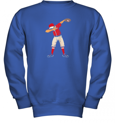 pray dabbing baseball catcher gift shirt kids men boys bzr youth sweatshirt 47 front royal