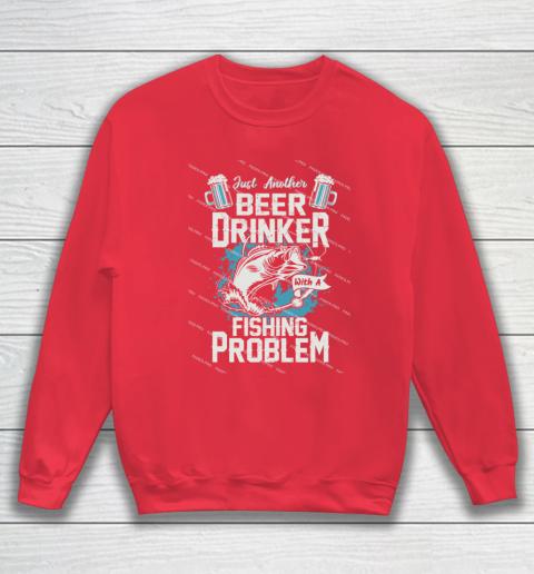 Beer Lover Funny Shirt Fishing ANd Beer Sweatshirt 7