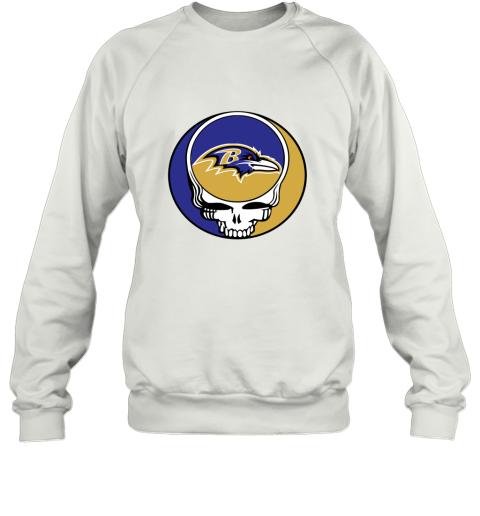 NFL Team Baltimore Ravens x Grateful Dead Sweatshirt