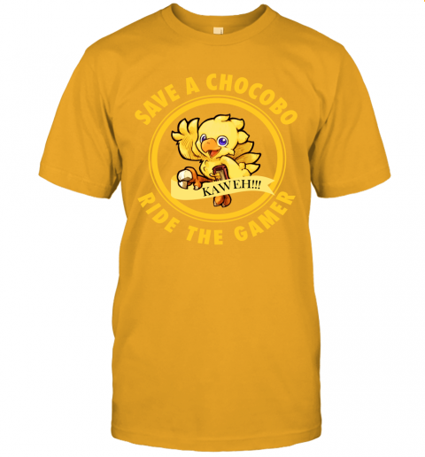 Save A Chocobo Ride A Gamer Unisex Jersey Tee
