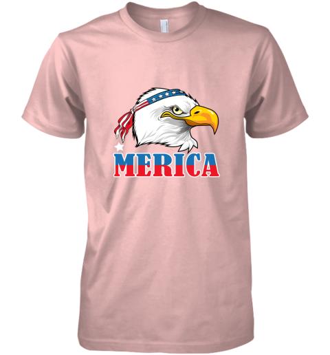 Eagle Mullet 4th Of July American Flag Merica USA Premium Men's T-Shirt