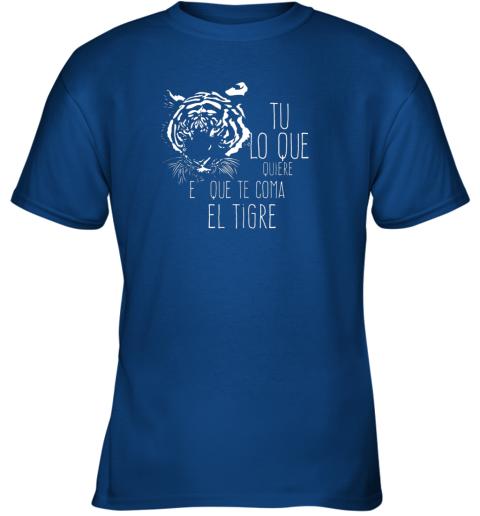 ckof tigres dominican baseball spanish espanol cool youth t shirt 26 front royal