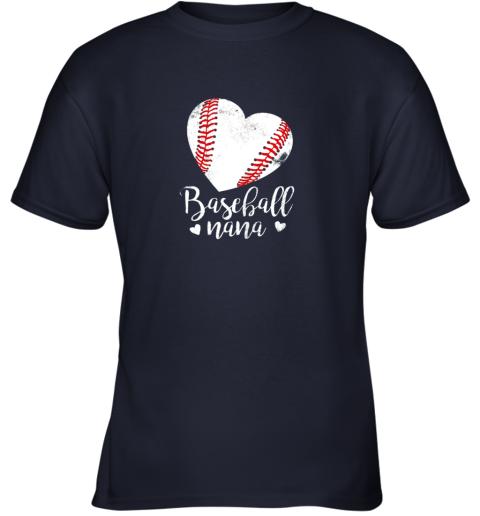 1up8 funny baseball nana shirt gift for men women youth t shirt 26 front navy