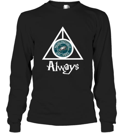 Always Love The Philadelphia Eagles x Harry Potter Mashup NFL Long Sleeve T-Shirt