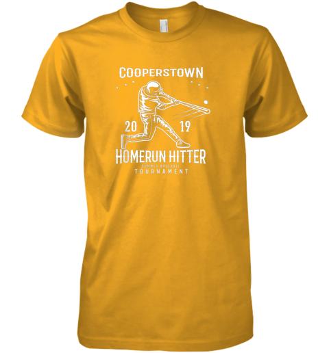 9ksc cooperstown home run hitter premium guys tee 5 front gold