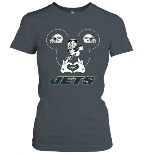 p4io i love the jets mickey mouse new york jets ladies t shirt 20 front dark heather
