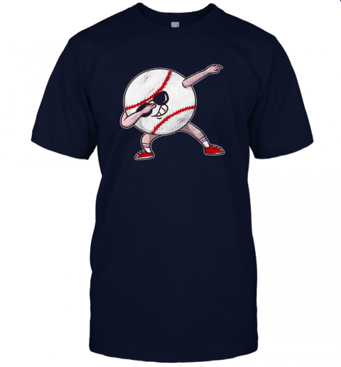 hhzs kids funny dabbing baseball player youth shirt cool gift boy jersey t shirt 60 front navy