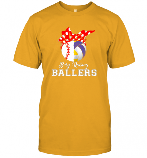 o052 baseball volleyball busy raising ballers shirt mothers day jersey t shirt 60 front gold