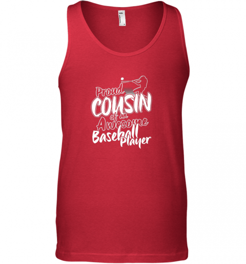 gslm cousin baseball shirt sports for men accessories unisex tank 17 front red