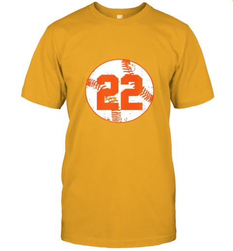 v773 womens vintage baseball number 22 shirt cool softball mom gift jersey t shirt 60 front gold