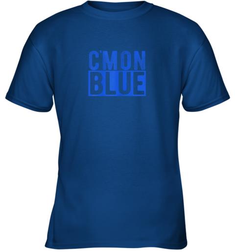 zj3j cmon blue umpire baseball fan graphic lover gift youth t shirt 26 front royal