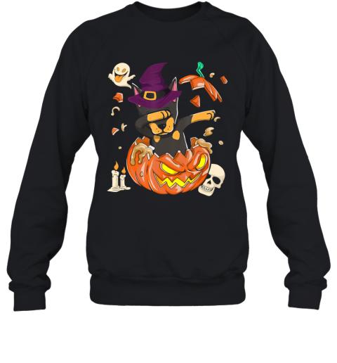 Doberman Dog Pumpkin Halloween, Pumpkin Halloween Gift Sweatshirt