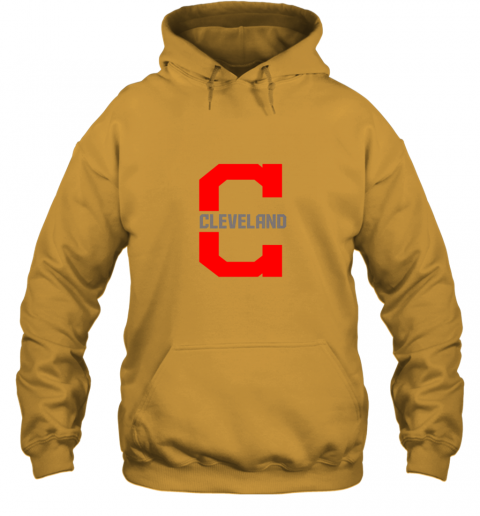 4sh3 cleveland hometown indian tribe vintage for baseball hoodie 23 front gold