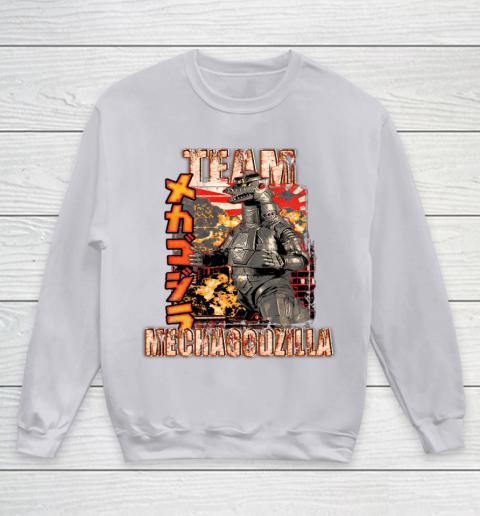 Team Mechagodzilla Japan Vintage Style Youth Sweatshirt 3
