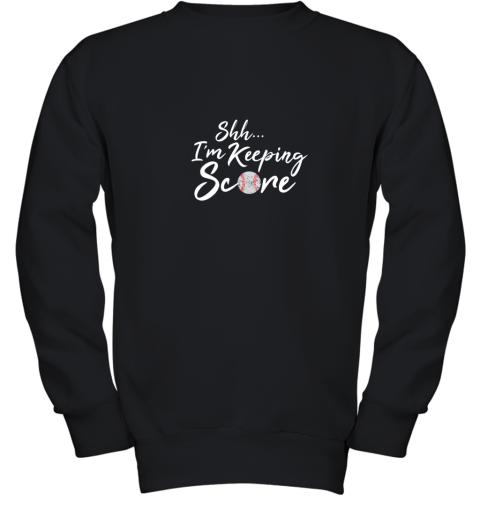 Scorekeeper Baseball Team Scorebook Keeper Youth Sweatshirt