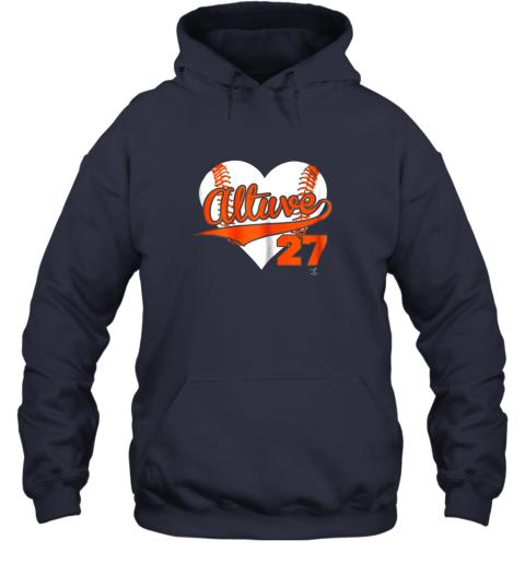 ndnz jose altuve baseball heart shirtapparel hoodie 23 front navy