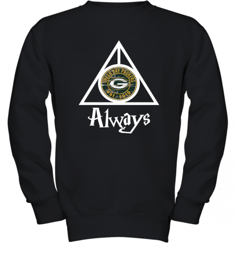 Green Bay Packers x Harry Potter Mashup Youth Sweatshirt