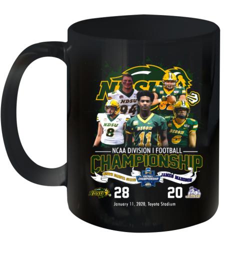 NDSU Ncaa Division I Football Championship Ceramic Mug 11oz